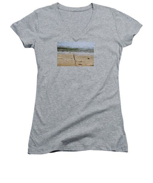 Lost Message In A Bottle 2 Women's V-Neck (Athletic Fit)
