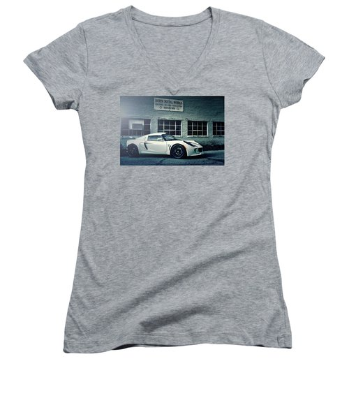 Lotus Exige S Women's V-Neck (Athletic Fit)
