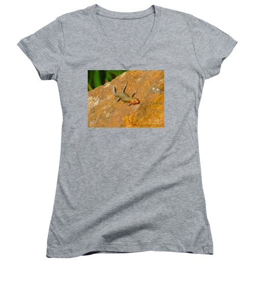 Lounging Lizard Women's V-Neck (Athletic Fit)