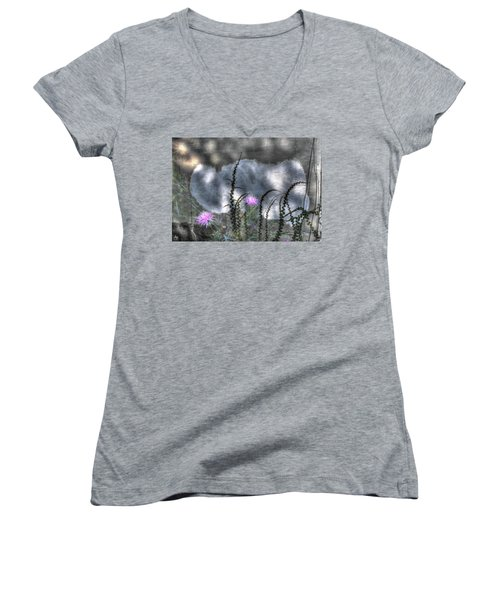 Love And Death Women's V-Neck