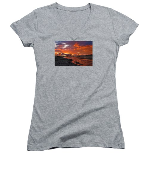Love At First Light Women's V-Neck (Athletic Fit)
