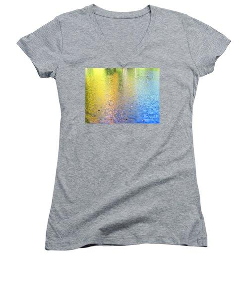 Love Calls Unceasingly Women's V-Neck T-Shirt