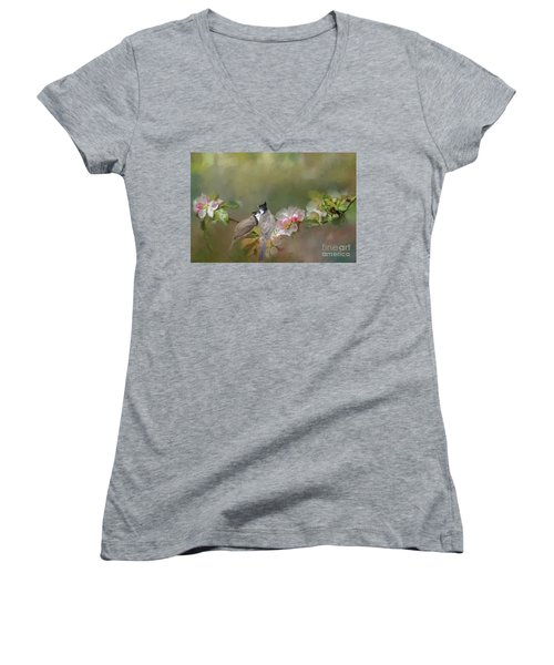 Love Couple Women's V-Neck T-Shirt