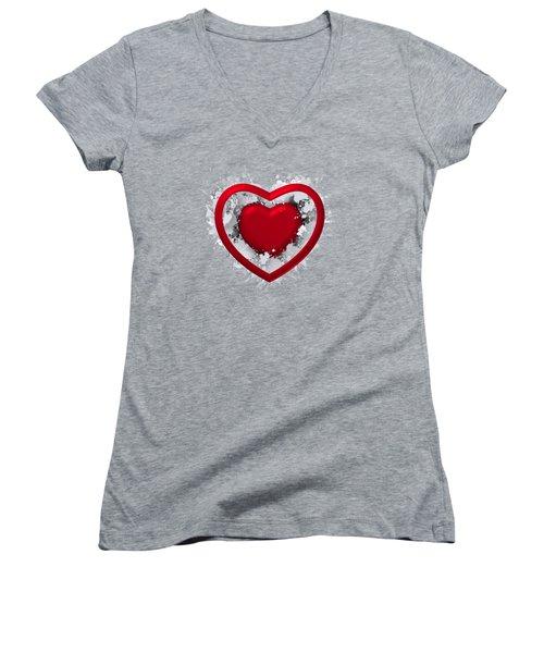 Love In Love Women's V-Neck