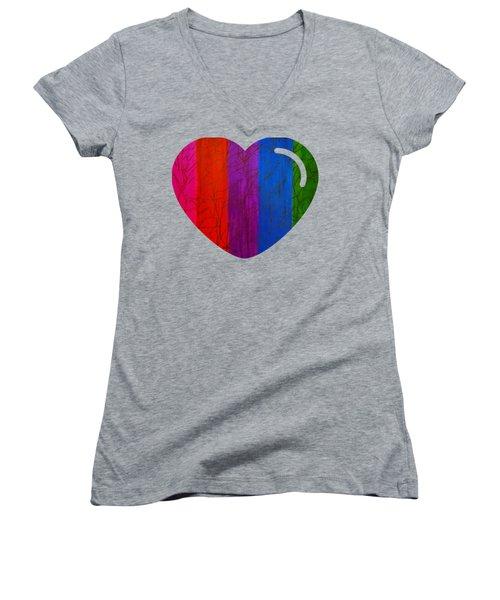 Love Is Love Women's V-Neck