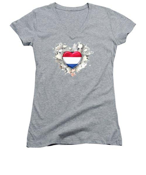 Love Netherland.1 Women's V-Neck