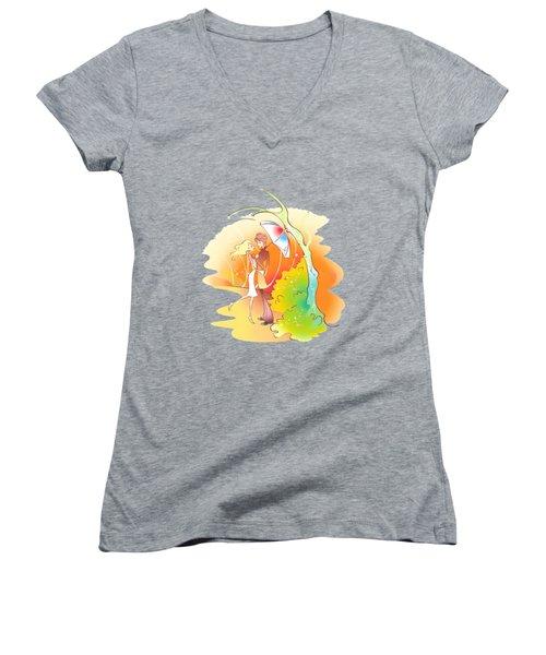 Love Shower T-shirt Women's V-Neck T-Shirt