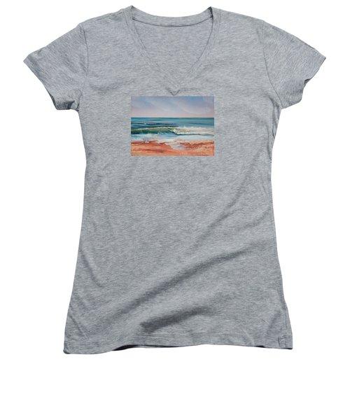 Love The Surf Women's V-Neck T-Shirt