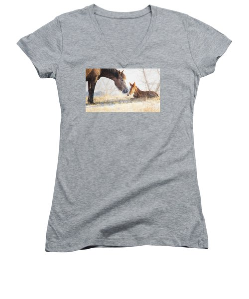 Love You Women's V-Neck (Athletic Fit)