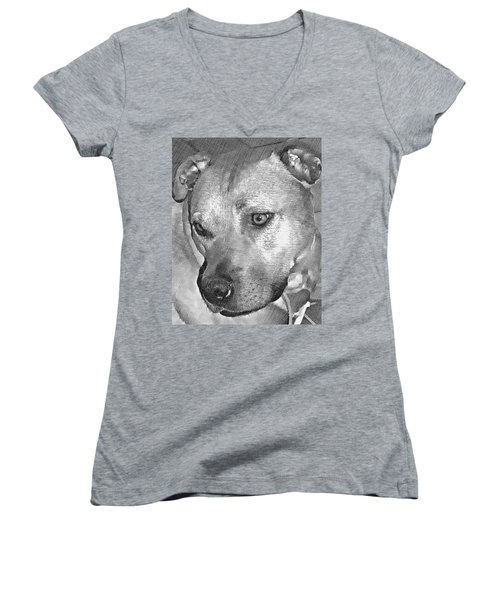 Lovely Dog Women's V-Neck