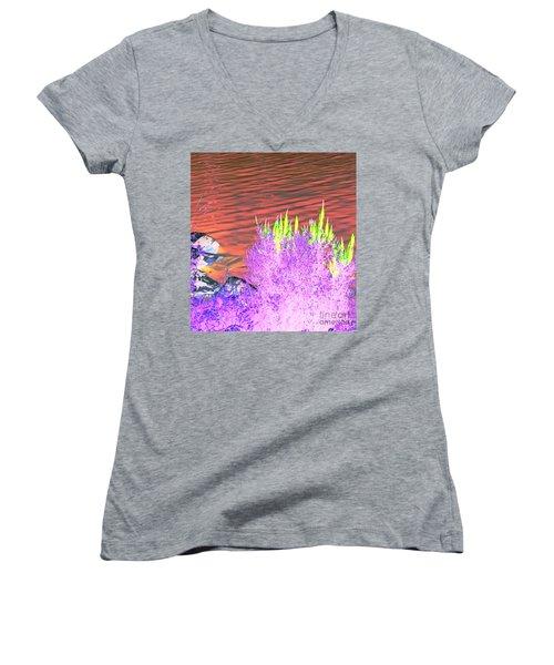 Lovely  Women's V-Neck T-Shirt