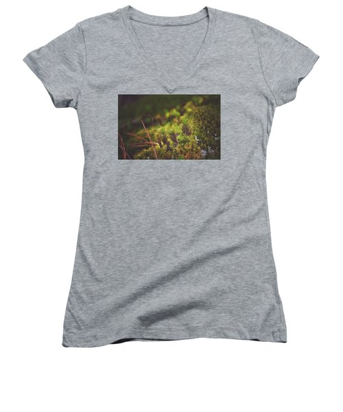 low in the valley -Loganville Georgia  Women's V-Neck