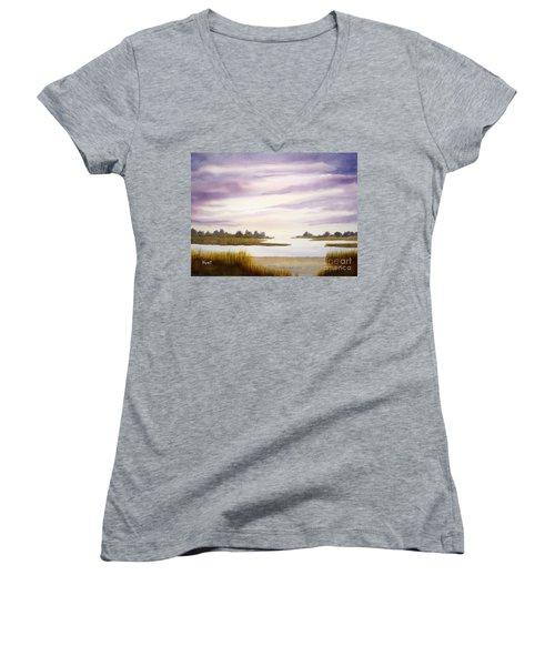Low Tide Women's V-Neck T-Shirt