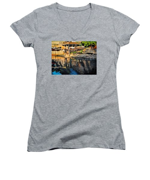 Low Water Women's V-Neck (Athletic Fit)
