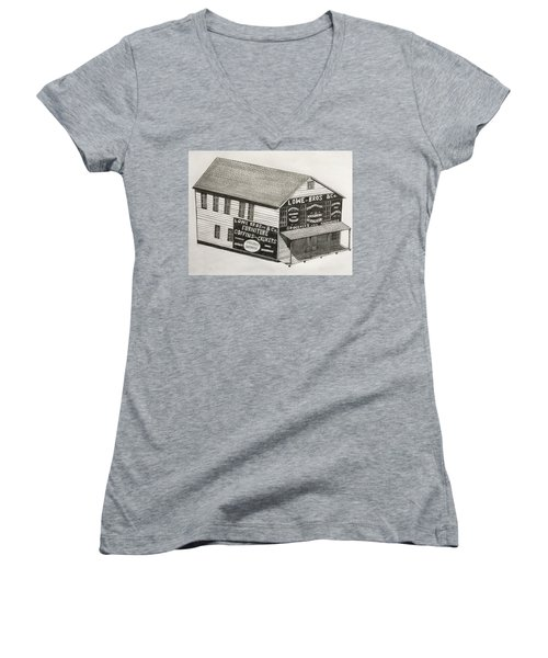 Lowe Brothers Hardware  Women's V-Neck T-Shirt