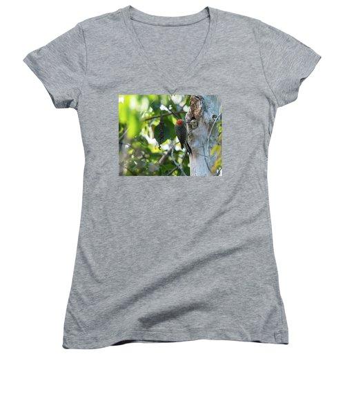 Lunchtime Women's V-Neck T-Shirt