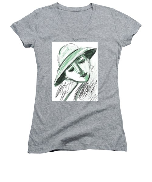 Lydia Women's V-Neck T-Shirt