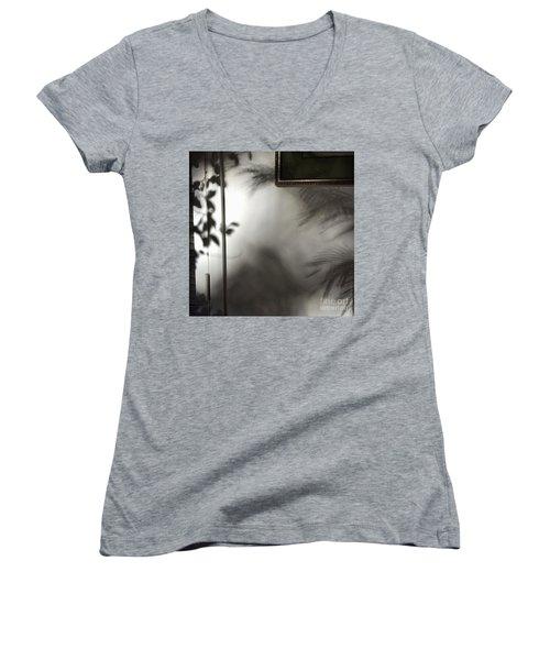Lysiloma Shadows Women's V-Neck T-Shirt