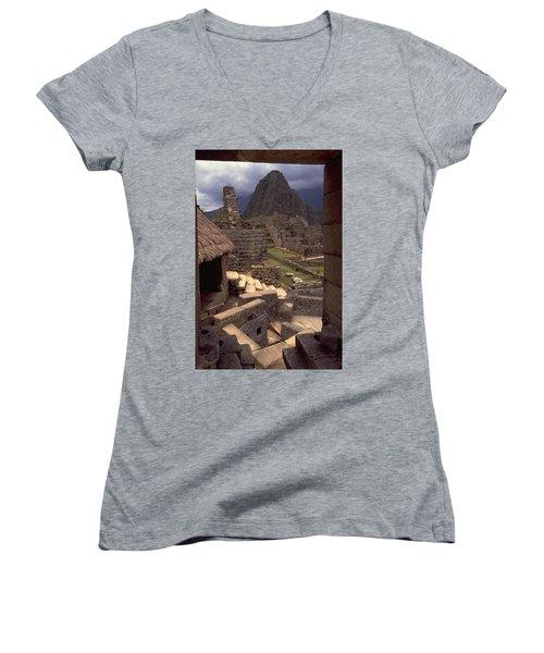 Machu Picchu Women's V-Neck