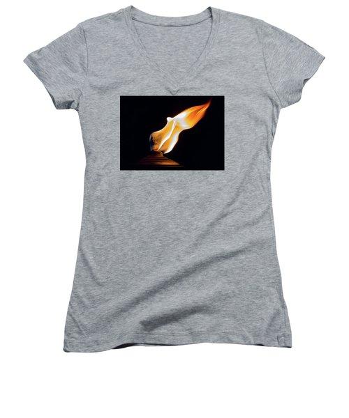 Macro Torch Women's V-Neck