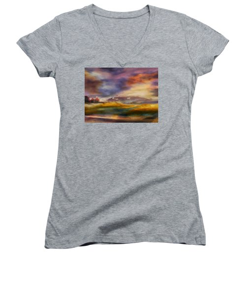 Magic Hour IIi Women's V-Neck (Athletic Fit)