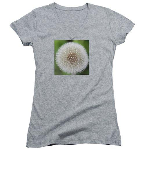 Make A Wish Women's V-Neck T-Shirt (Junior Cut) by DJ Florek