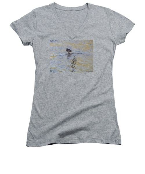 Mallard And The Branch Women's V-Neck