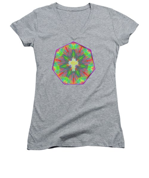 Mandala 1 1 2016 Women's V-Neck