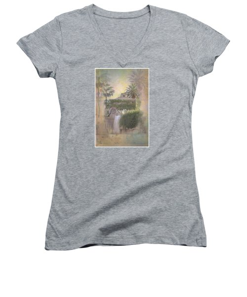 Mandalay Bay Women's V-Neck T-Shirt