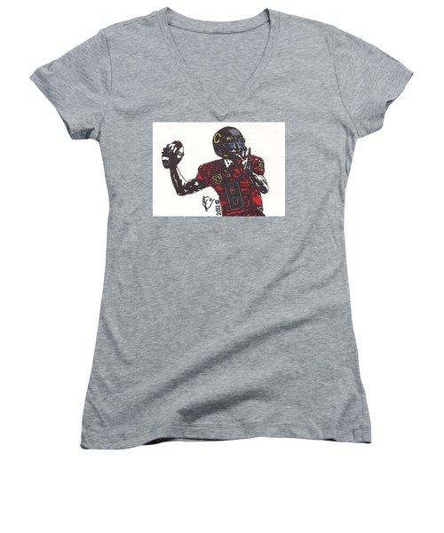Marcus Mariota 1 Women's V-Neck T-Shirt