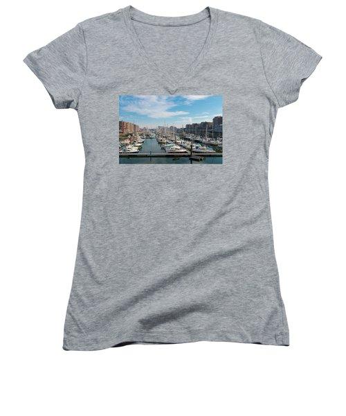 Marina In The Netherlands Women's V-Neck T-Shirt
