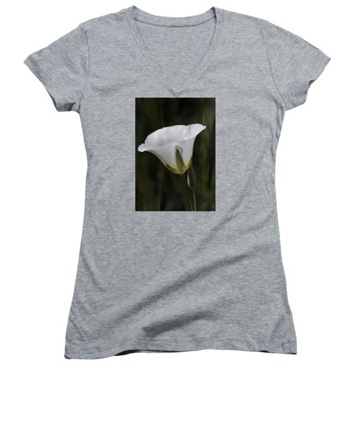 Mariposa Lily 6 Women's V-Neck (Athletic Fit)