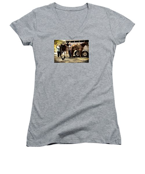 Marriage And The Deer Hunters Women's V-Neck T-Shirt