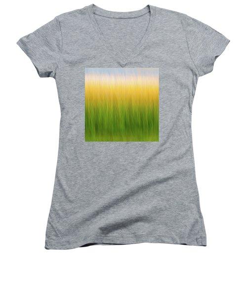 Marsh Grass Women's V-Neck
