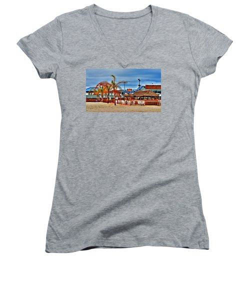 Martells On The Beach - Jersey Shore Women's V-Neck