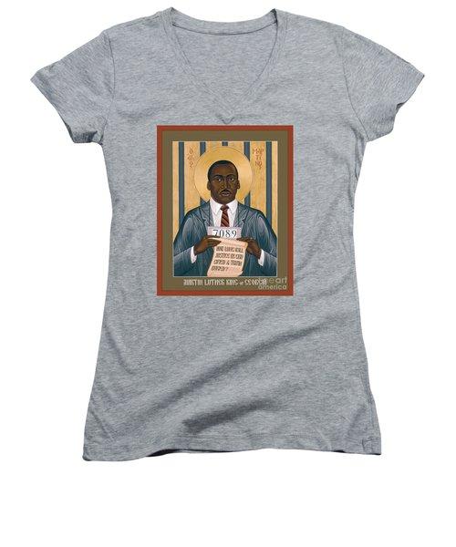 Martin Luther King Of Georgia  - Rlmlk Women's V-Neck
