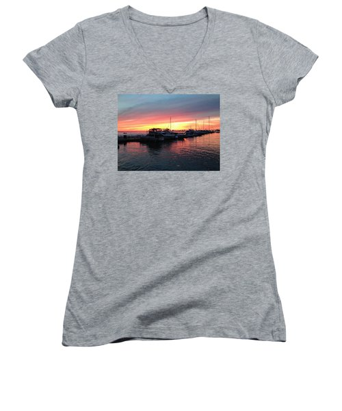 Masts And Steeples Women's V-Neck