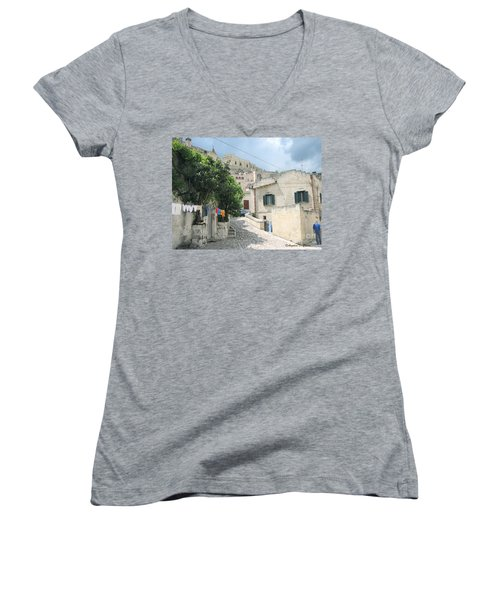 Matera's Colorful Laundry Women's V-Neck T-Shirt