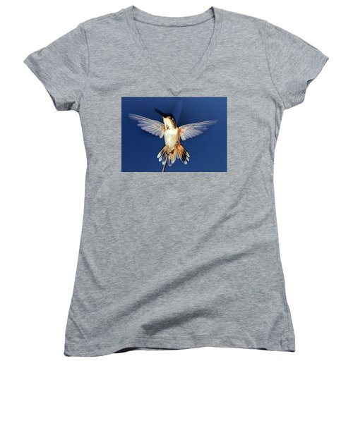 Max, Flashed Women's V-Neck T-Shirt