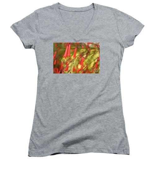 May The Light Lead You The Way Women's V-Neck (Athletic Fit)