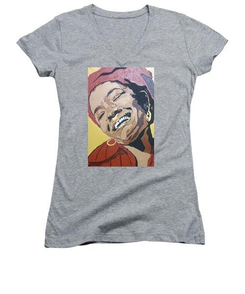 Maya Angelou Women's V-Neck