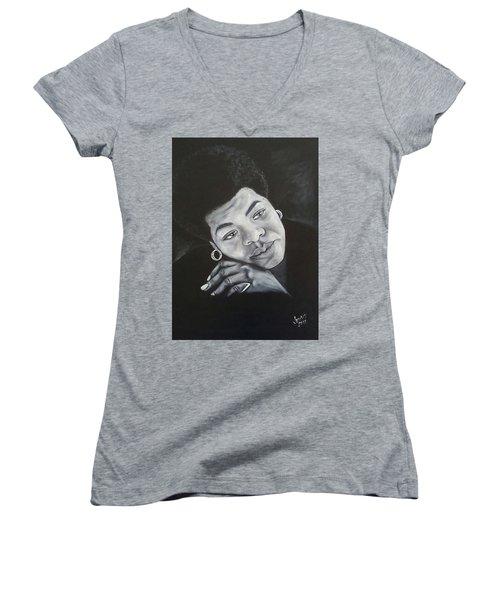 Maya Women's V-Neck T-Shirt