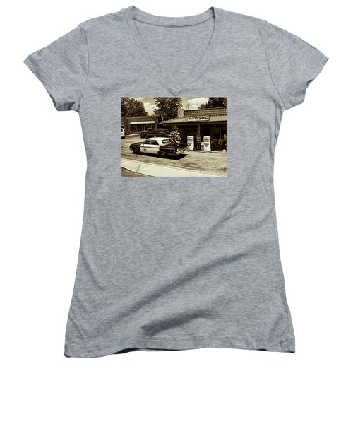 Automobile History Women's V-Neck