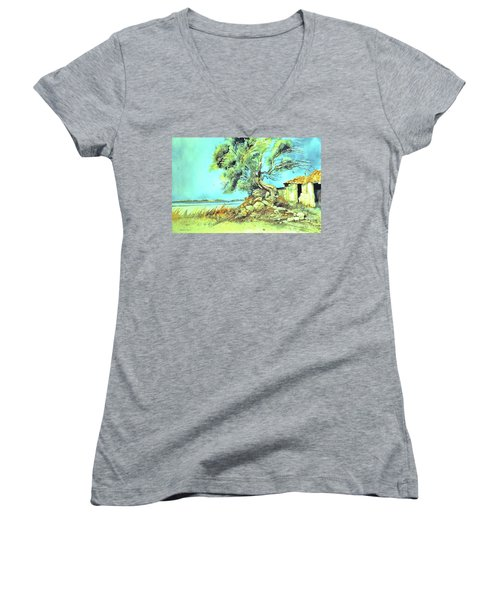 Mayorcan Tree Women's V-Neck