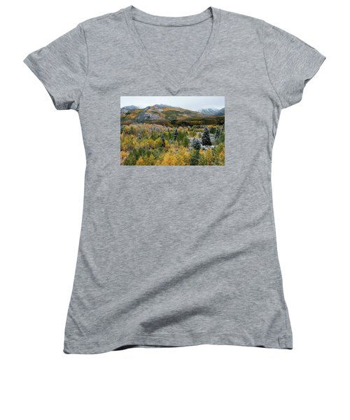 Mcclure Pass - 9606 Women's V-Neck T-Shirt