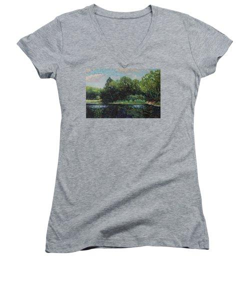 Mccrae Portage Women's V-Neck T-Shirt