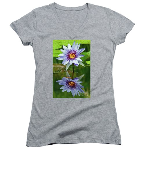 Mckee Waterlily II Women's V-Neck (Athletic Fit)