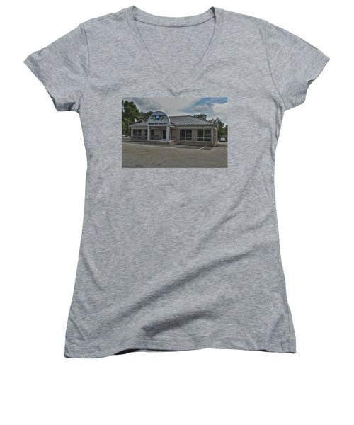 Mcnair4 Women's V-Neck (Athletic Fit)