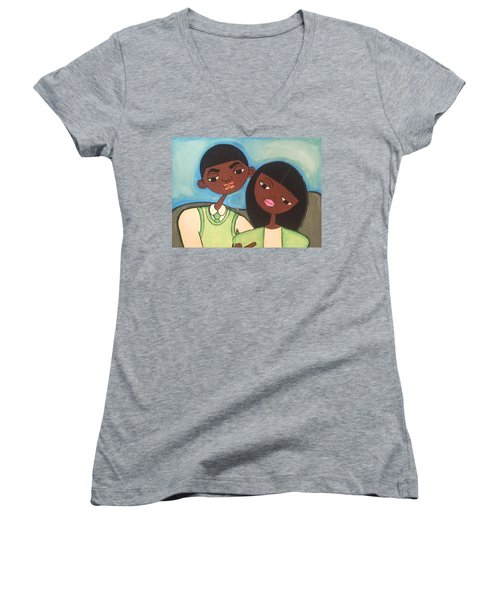 Me And My Boo Women's V-Neck T-Shirt