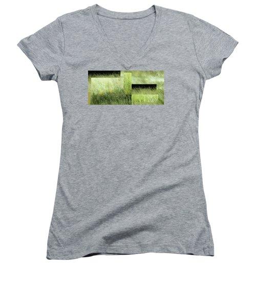 Meadow -  Women's V-Neck T-Shirt